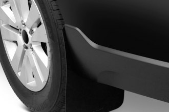 Rally Armor® - Basic Series Black Mud Flaps with Black Rally Armor Logo