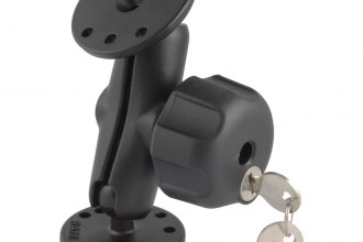 "RAM® - 1"" Ball Mount with 2""-2.5"" Round Bases and Locking Knob"