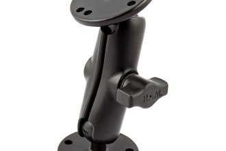 "RAM® - 1"" Ball Mount with 2-2.5"" Round Bases"