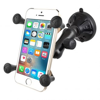 RAM® - Composite Twist Lock Suction Cup Mount with X-Grip® Cell Phone Cradle