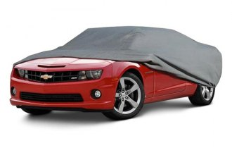 Rampage® - Gray Custom Fit 4-Layer Breathable Car Cover
