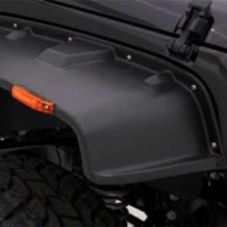 Rampage® - Flat Style Front and Rear Fender Flares
