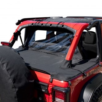 Jeep Wrangler Roll Up Tonneau Covers Soft Hard Low Profile