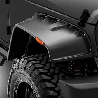 Rampage® - FX-Flat Style Front and Rear Fender Flares