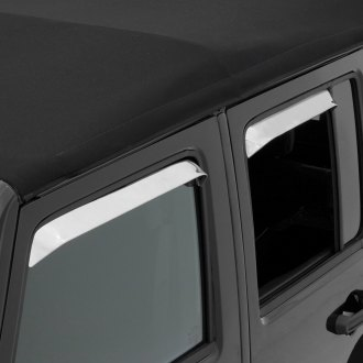 Rampage® - In-Channel Ventshade™ Front and Rear Window Deflectors