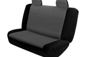 Rampage® 5057821 - Rear Black/Gray Polycanvas Seat Cover