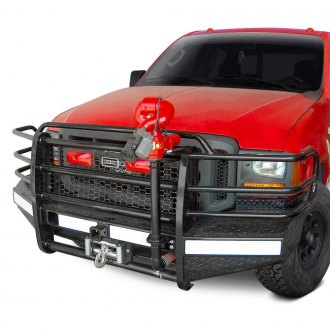 Ranch Hand® - Sport Series Full Width Front HD Winch Bumper with Brush Guard