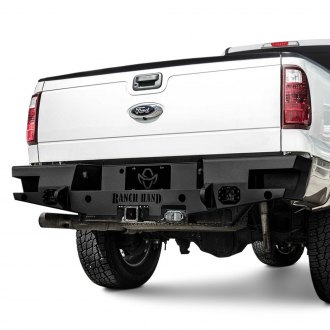 Ranch Hand® - Horizon Series Full Width Black Rear HD Bumper