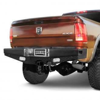 Ranch Hand® - Sport Series Full Width Durable Black Rear HD Bumper