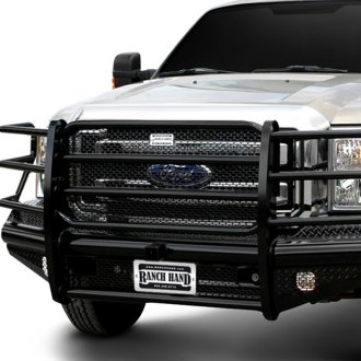 Ranch Hand® - Legend Series Full Width Black Front HD Bumper with Full Grille Guard