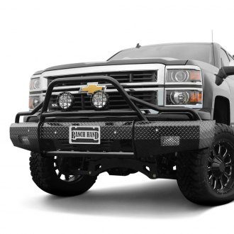 Ranch Hand® - Summit BullNose Series Full Width Front HD Bumper with Pre-Runner Guard