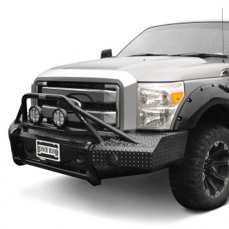 Ranch Hand® - Summit BullNose Series Full Width Black Front HD Bumper