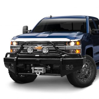 Ranch Hand® - Sport BullNose Series Full Width Front HD Bumper with Pre-Runner Guard