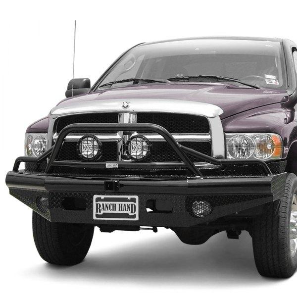 Ranch Hand Fbd061blr Legend Front Bumper Dodge 1500 2500: Legend BullNose Series Full Width