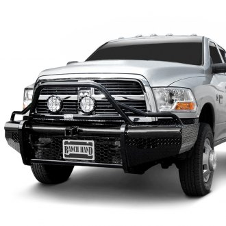 Ranch Hand® - Legend BullNose Series Full Width Black Front HD Bumper