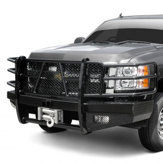 Ranch Hand® - Sport Series Full Width Front HD Winch Bumper with Grille Guard