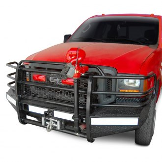 Ranch Hand® - Sport Series Full Width Black Front Winch HD Bumper