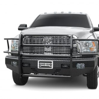 Ranch Hand® - Summit Series Full Width Tough Black Front HD Bumper