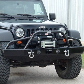 Ranch Hand® - Sport BullNose Series Black Winch Mount Plate