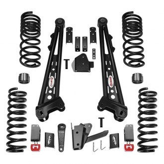 "Rancho® - 4.5"" x 2.5"" Competition Radius Arm System Front and Rear Suspension Lift Kit"