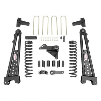 "Rancho® - 5"" x 5.5"" Radius Arm System Front and Rear Suspension Lift Kit"