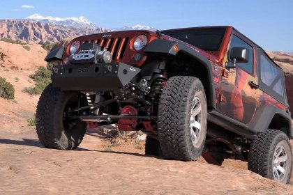 Rancho® 4 Sport System for the Jeep Warangler JK (Full HD)