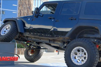 RS66115B - Rancho® Crawler Long-Arm Front and Rear Suspension Lift Kit (HD)