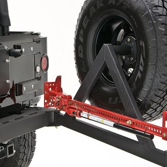 Rancho® - rockGEAR™ Rear Off-Road Bumper with Tire Carrier