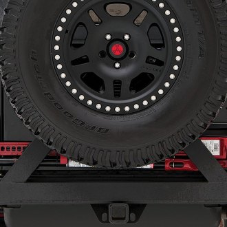 Rancho® - Rear Off-Road Bumper with Tire Carrier
