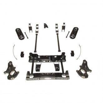 "Rancho® - 4"" Front and Rear Suspension Lift Kit"