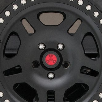 Rancho® - rockGEAR™ Black/Red LED Spare Tire Mounted LED 3rd Brake Light