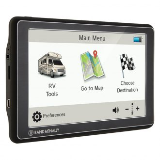 "Rand McNally® - RVND™ Device with 7.0"" GPS Navigator and Lifetime Maps"