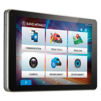 "Rand McNally® - OverDryve™ 8 Pro Truck Device with 8"" Vehicle GPS Navigator"