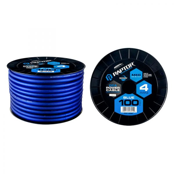 Power Cable Raptor R4BL4-100 MID SERIES Blue