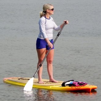 RAVE Sports® - Sunset Gold Core Crossfit Stand Up Paddle Board