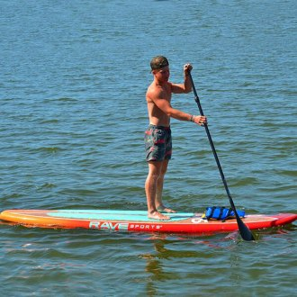RAVE Sports® - Shoreline Series SS110 Sunburst Stand Up Paddle Board