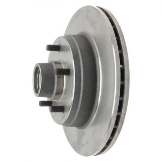 Raybestos® - Professional Grade™ Vented 1-Piece Front Brake Rotor and Hub Assembly