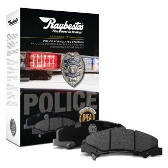 Raybestos® - Advanced Technology Police Patrol™ Semi-Metallic Brake Pads