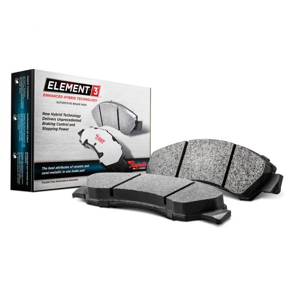 Raybestos® - Element3™ Enhanced Hybrid Technology Front Disc Brake Pads