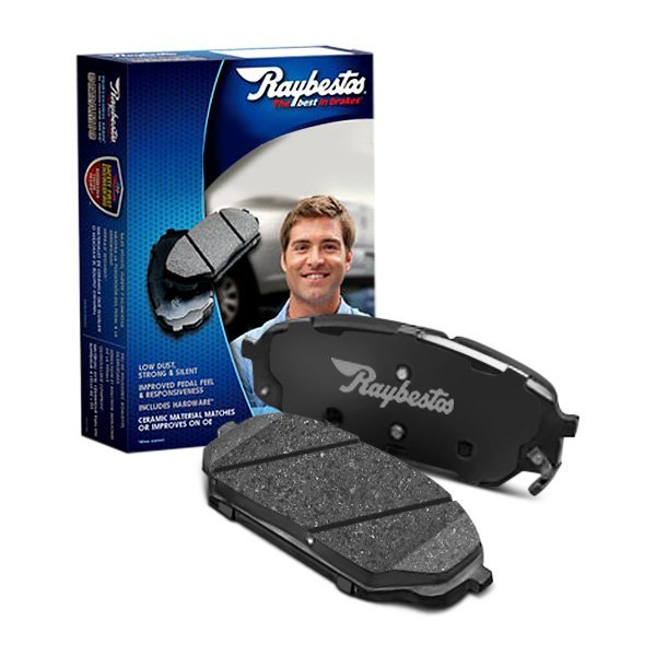 Raybestos® - Professional Grade™ Semi-Metallic Rear Disc Brake Pads