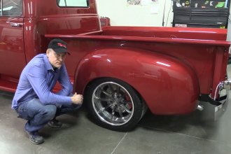Tire Wheels and Brakes on the 53 Chevy 3600