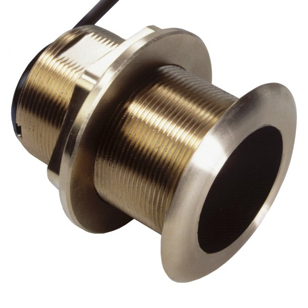 Raymarine® - Tilted Element™ B175MH Bronze Flush Thru-hull Mount Transducer with Y-Cable