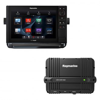 "Raymarine® - eS Series eS128 12.1"" Multifunction Display with CP470 CHIRP Sounder W/O Charts"