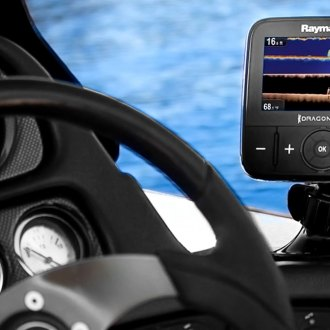 Raymarine® — Dragonfly-5 DVS With Dual Channel Chirp Downvision Sonar