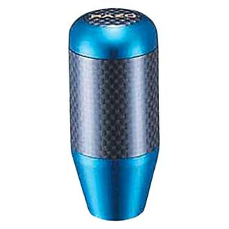 Razo® - Manual Aluminum Plus Carbon Series Blue Shift Knob