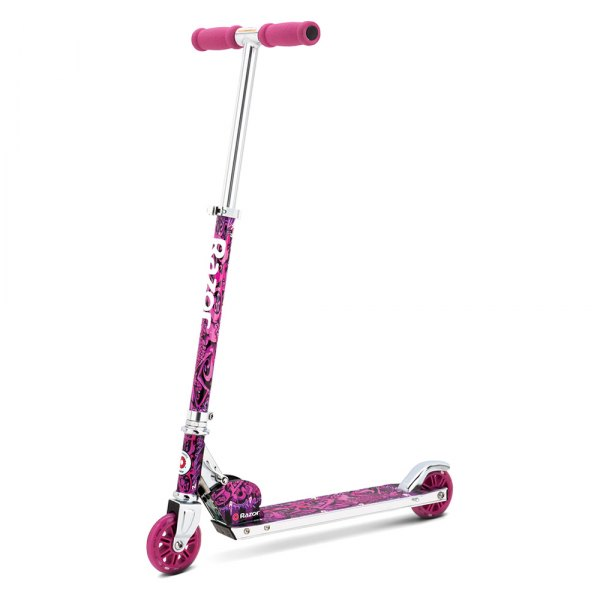 Razor® - A Kick Scooter - Wild Style Pink