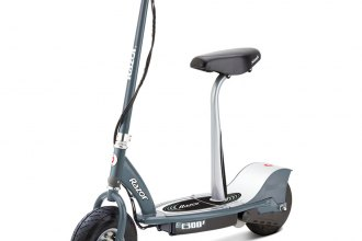 Razor® 13116214 - E300S Electric Scooter with Detachable Seat (Gray)
