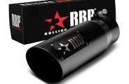 RBP� - SS Heat Treated Black Coating Tip with Logo