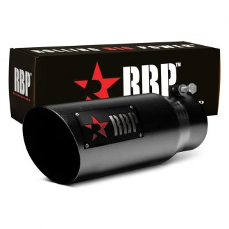 RBP® - SS Heat Treated Black Coating Tip with Logo and Red Star
