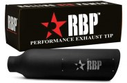 RBP� - Magnum SS Heat Treated Black Coating Tip with Logo
